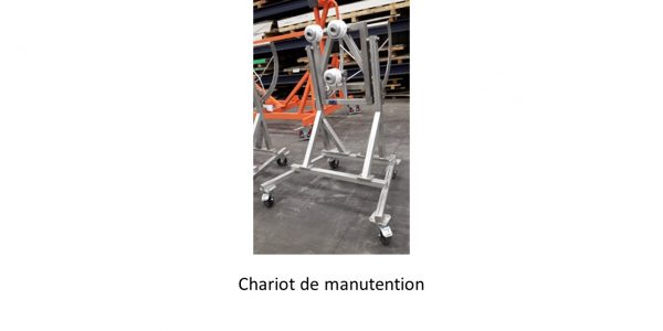 GDTech - chariot de manutention