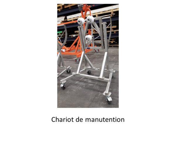 GDTech - chariot de manutention