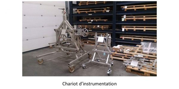 GDTech - chariot d'instrumentation