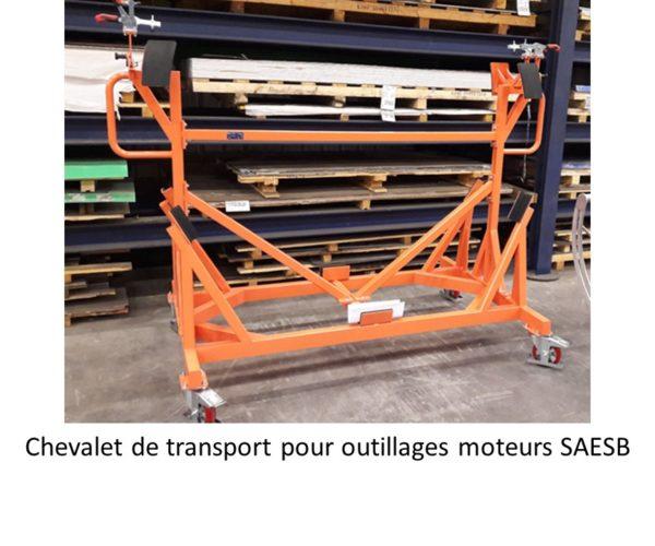 GDTech - chevalet de transport