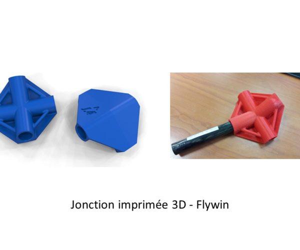 GDTech - jonction imprimée 3D