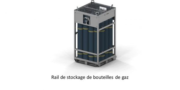 GDTech - rail de stockage